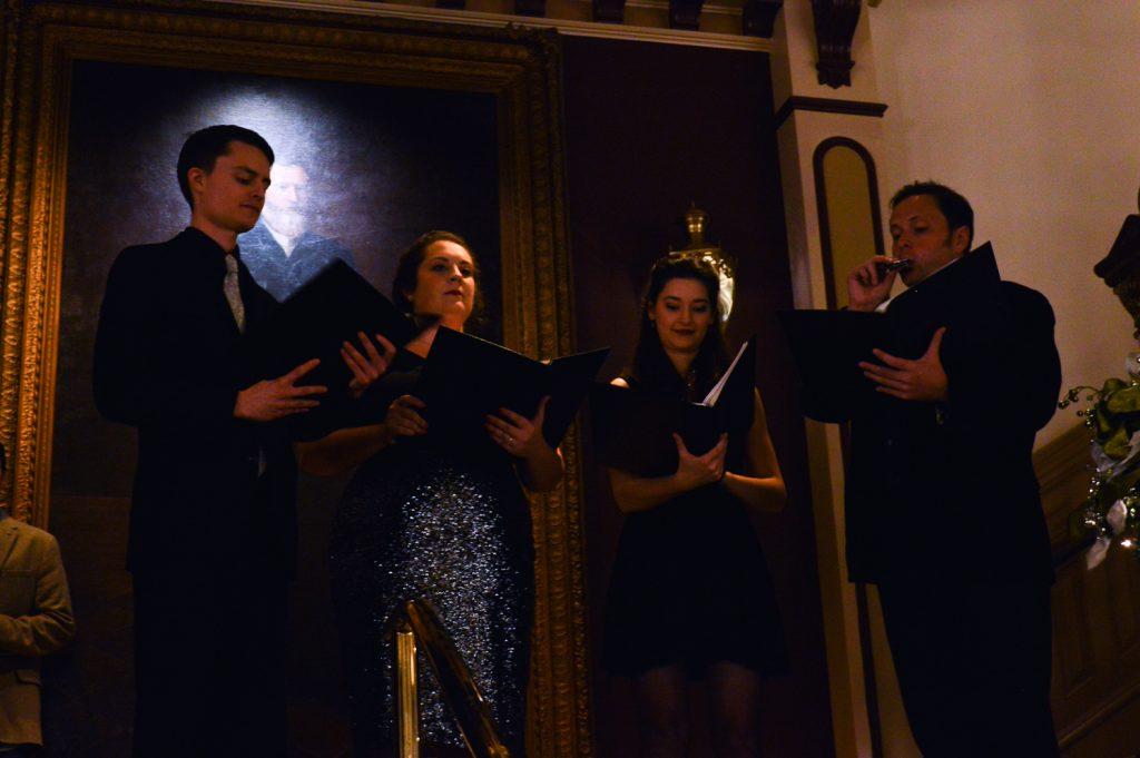 singers at the driskill