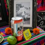 A part of the altar for Emma S. Barrientos, the namesake of the Mexican American Cultural Center. The MACC was named after the late Barrientos in 2010 due to her work in the community, politics and the arts as the wife of former Texas State Sen. Gonzalo Barrientos. Día De Los Muertos altars feature tokens of a person's life.