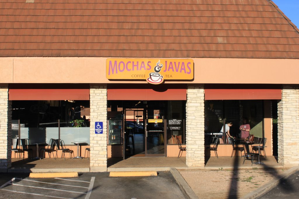 This Mocha Javas is one of 3 located on North LBJ