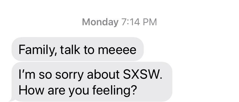 sxsw text