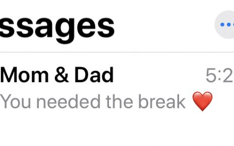 text from parents